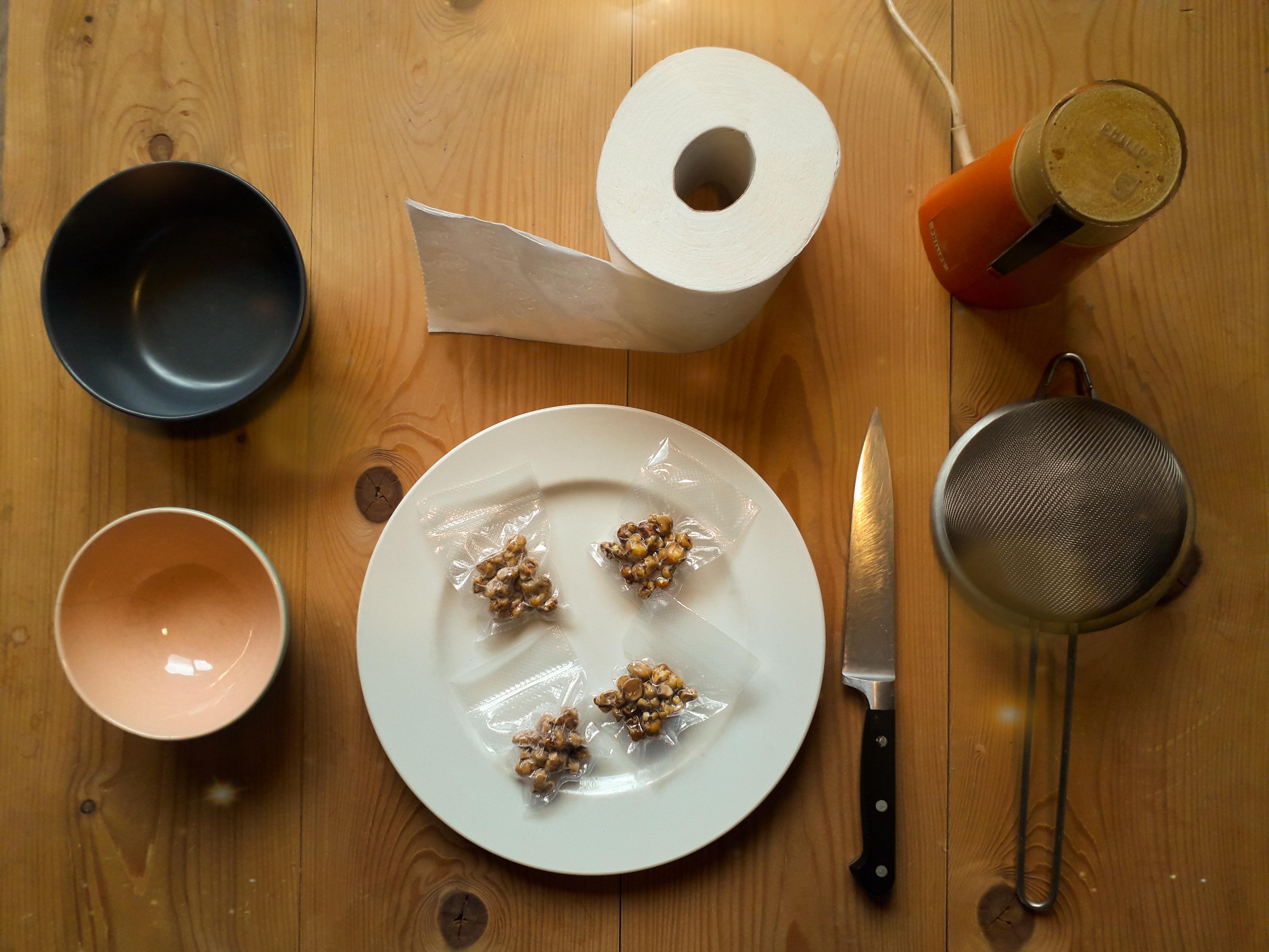 Benodigdheden voor het drogen van magische truffels